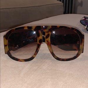 Steve Madden Large Tortishell Glasses
